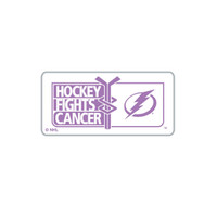 Tampa Bay Lightning Hockey Fights Cancer Lapel Pin