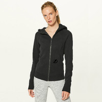 Women's Tampa Bay Lightning lululemon Black Scuba Hoodie