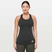 Women's Tampa Bay Lightning lululemon Black Cool Racerback II Nulu
