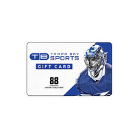 Tampa Bay Sports Limited Edition Andrei Vasilevskiy Gift Card - Redeemable In Store Only