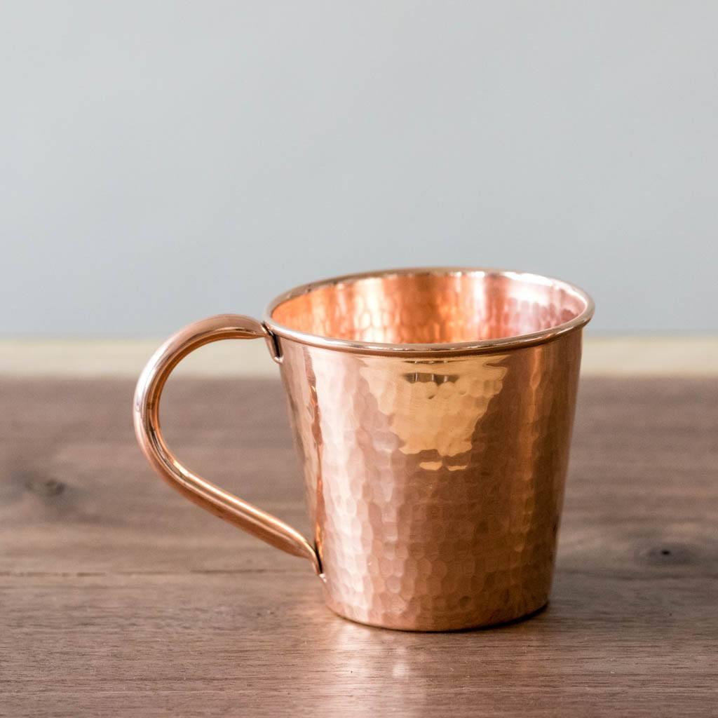 Copper Moscow Mule Mug by Sertodo Copper (Copper Handle - 12 ounce)
