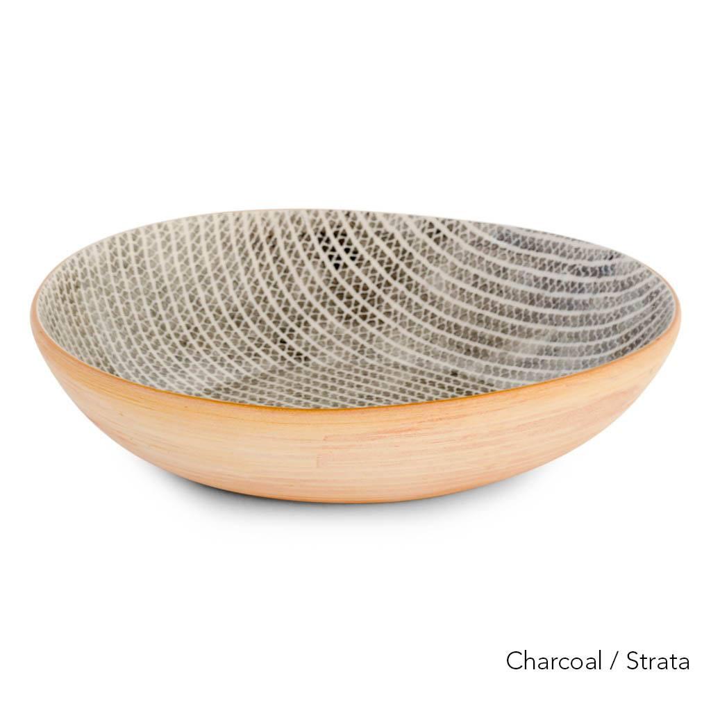 Terrafirma Ceramics – Medium Serving Bowl  (Charcoal)