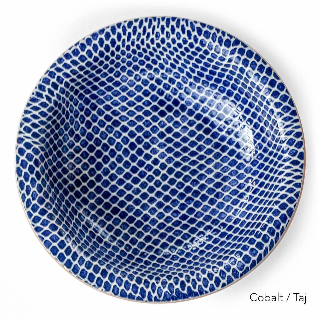 Terrafirma Ceramics - Large Serving Bowl (Cobalt)