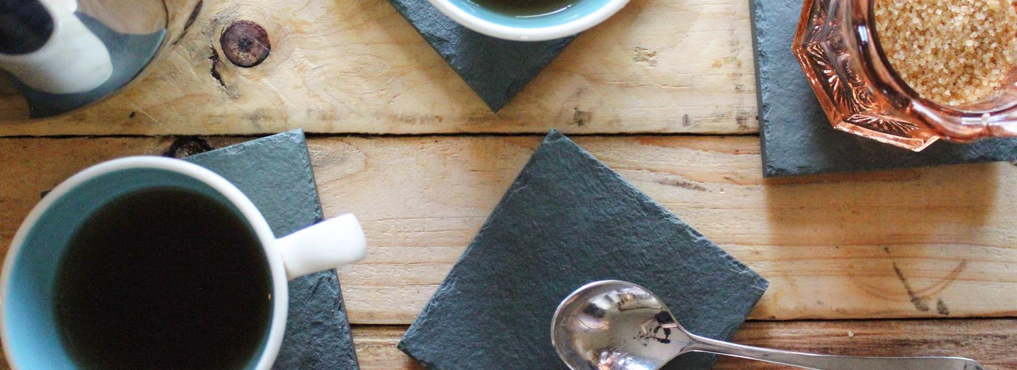 Handmade Slate Coasters