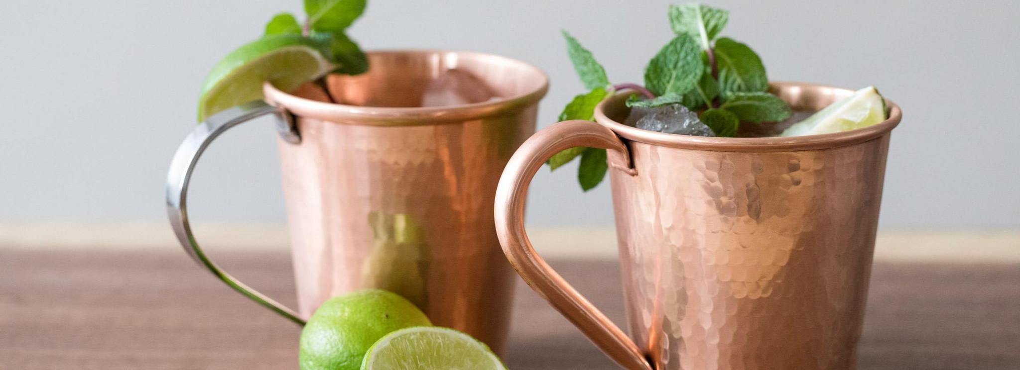 Handmade Copper Moscow Mule Mugs