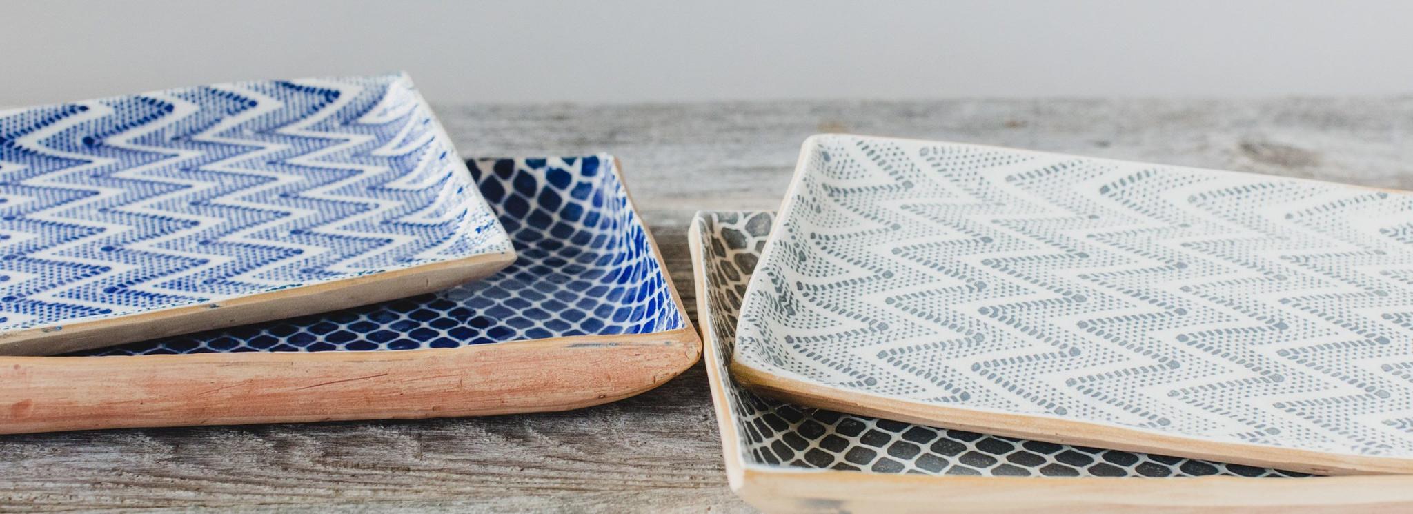 Handmade Ceramic Serving Platters