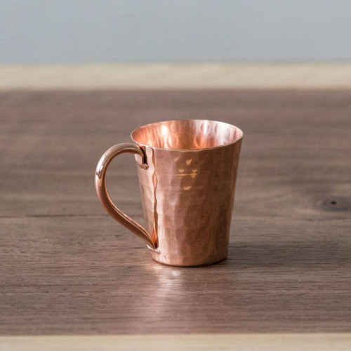 Hammered Copper Gunslinger Mini Moscow Mule Mug by Sertodo Copper (2 ounce)