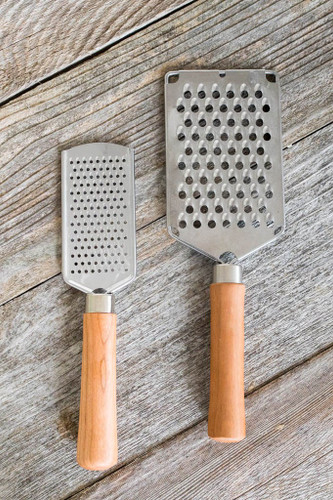 Large and Small Cheese Grater by Rockledge Farm Woodworks
