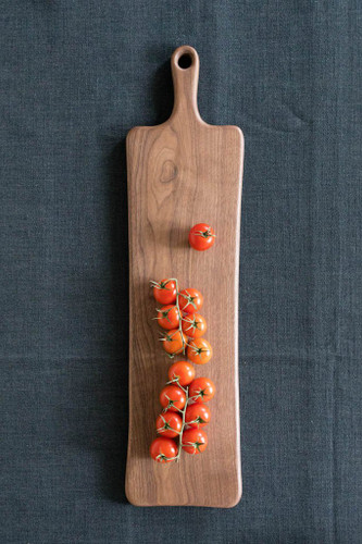 "Handmade Wooden Cutting Board by Rockledge Farm Woodworks 8"" x 24"" (Black Walnut)"