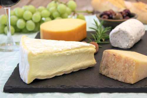 "Slate Cheese Board (10"" x 12"" - Black) by Rock Timber"