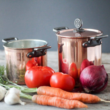 Featured: Pure Copper Cookware from House Copper