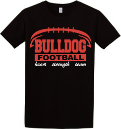 BULLDOG Football Tshirt