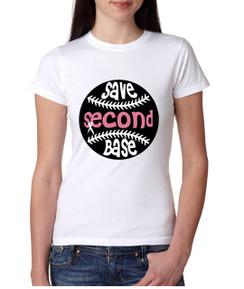 Cancer Breast Baseball Tshirt Awareness