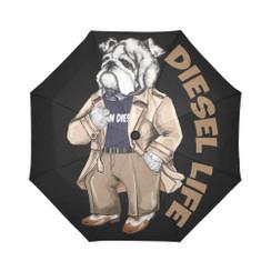 Sun Umbrella Trench Bulldog Diesel Life Umbrella Rain Accessories Bulldog