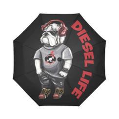 Sun Umbrella Headphones  Bulldog Diesel Life Umbrella Rain Accessories Bulldog DJ