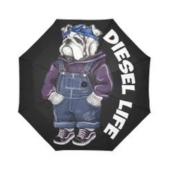 Sun Umbrella Tupac Overalls  Bulldog Diesel Life Umbrella Rain Accessories Bulldog Bandana