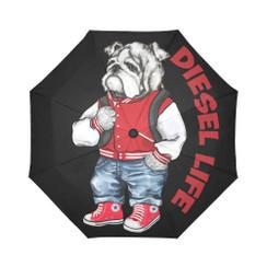 Sun Umbrella Varsity Bulldog Diesel Life Umbrella Rain Accessories Bulldog
