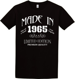 Birthday - Made In Birth Year Tshirt