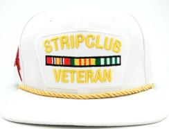 Strip Club Veteran Hat Free Text Embroidery