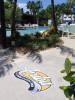 Floor Decals - PathFinders Sidewalk Stickers - Pool Side