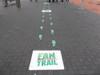 Floor Decals - PathFinders Sidewalk Stickers - Walkways