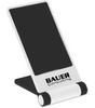 Custom Printed Cell Phone Stand - White/Black