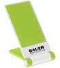 Custom Printed Cell Phone Stand - White/Lime