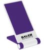 Custom Printed Cell Phone Stand - White/Purple