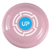 "9"" Promotional Frisbee, Custom Printed Flying Disk Toys - Awareness Pink"