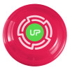 "9"" Promotional Frisbee, Custom Printed Flying Disk Toys - Hot Pink"