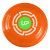 "9"" Promotional Frisbee, Custom Printed Flying Disk Toys - Neon Orange"