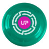 "9"" Promotional Frisbee, Custom Printed Flying Disk Toys - Teal"