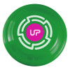 "9"" Promotional Frisbee, Custom Printed Flying Disk Toys - Green"