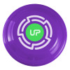 "9"" Promotional Frisbee, Custom Printed Flying Disk Toys - Violet"