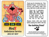 Promotional Bath Time Fun Puppy Thermometers - Reusable
