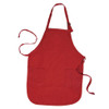Work Aprons - Custom Printed Grooming Aprons - Red