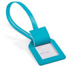 Custom Leatherette Luggage Tags - Turquoise (OPEN)
