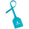Custom Leatherette Luggage Tags - Turquoise