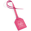 Custom Leatherette Luggage Tags - Magenta