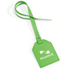 Custom Leatherette Luggage Tags - Lime Green
