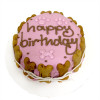 Customized Birthday Cakes for Dogs - All Natural, Organic - Girl