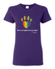 Have You Hugged Your Pet, Multi - Ladies T-Shirt - Purple