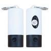 Pet Poop Bag Dispenser LED Flashlight - White