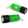 Pet Poop Bag Dispenser LED Flashlight - Green