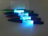 Light Up Logo Disco Pen with Stylus - Demo