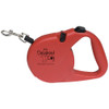 16ft Retractable Pet Leash with Custom Logo - Red