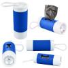 Dog Poop Bag Dispenser Flashlight with Custom Imprint - Reflex Blue