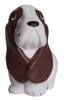 Basset Hound Dog Squeezies Stress Relievers - Front