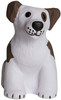 Sitting Dog Squeezies Stress Relievers - Blank