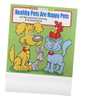 Healthy Pets are Happy Pets Promotional Coloring Books